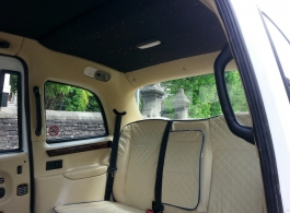London Taxi for wedding hire in Bridgend